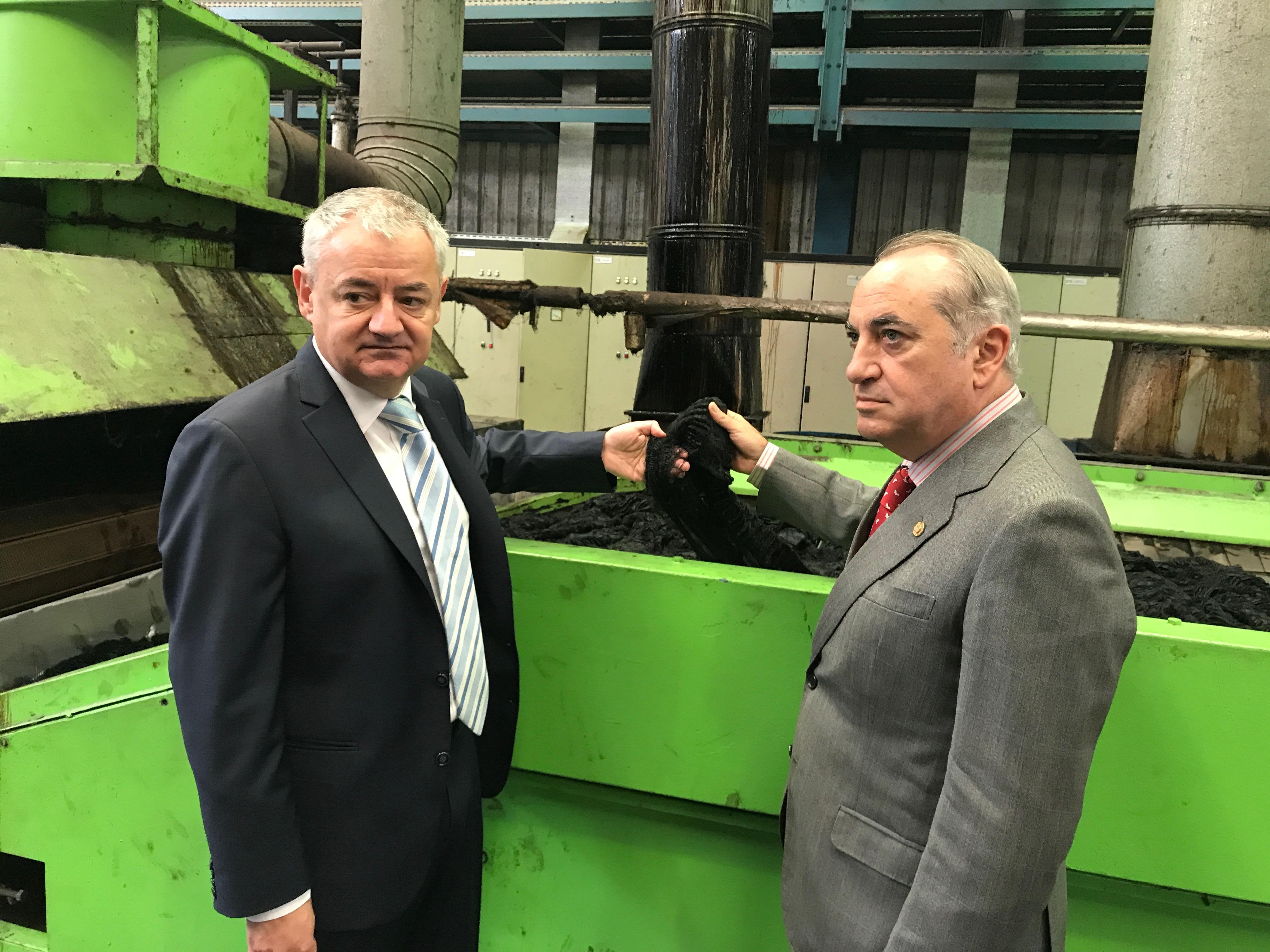 El consejero Arriola anima a las empresas vascas a luchar contra el cambio climático y convertir la economía circular en una oportunidad de negocio