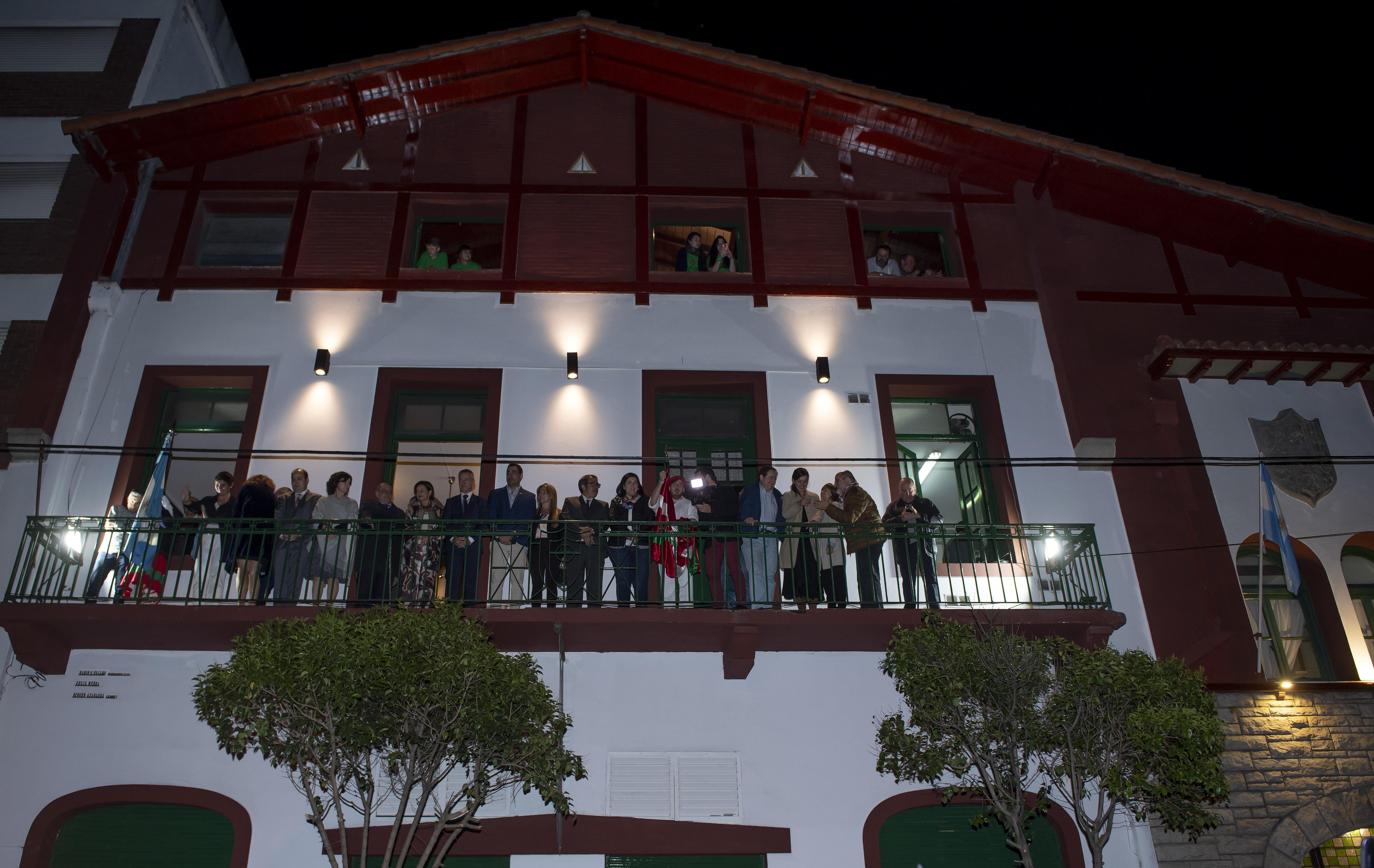El Lehendakari participa en la inauguración de la Semana Nacional Vasca en Argentina