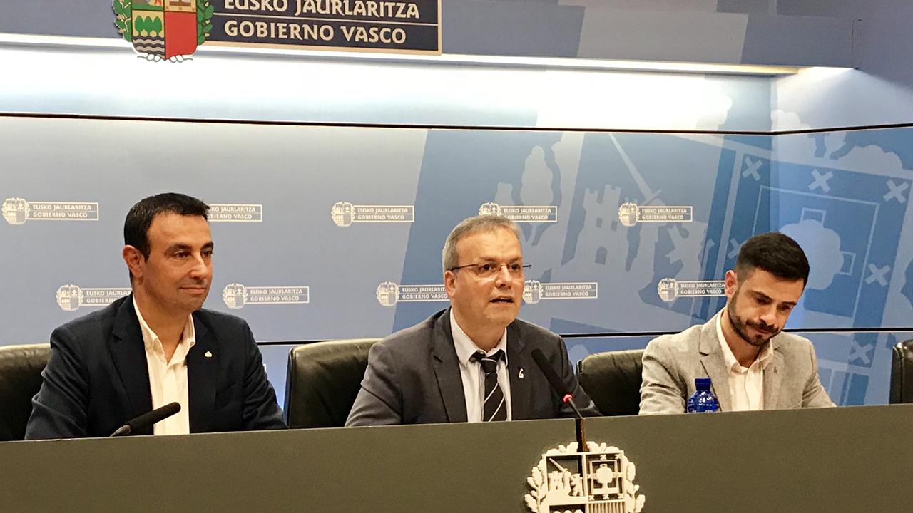 """""""Para saber a dónde vamos, debemos saber de dónde venimos"""" ha afirmado Retortillo en la presentación de la Semana del Turismo Industrial en Euskadi"""