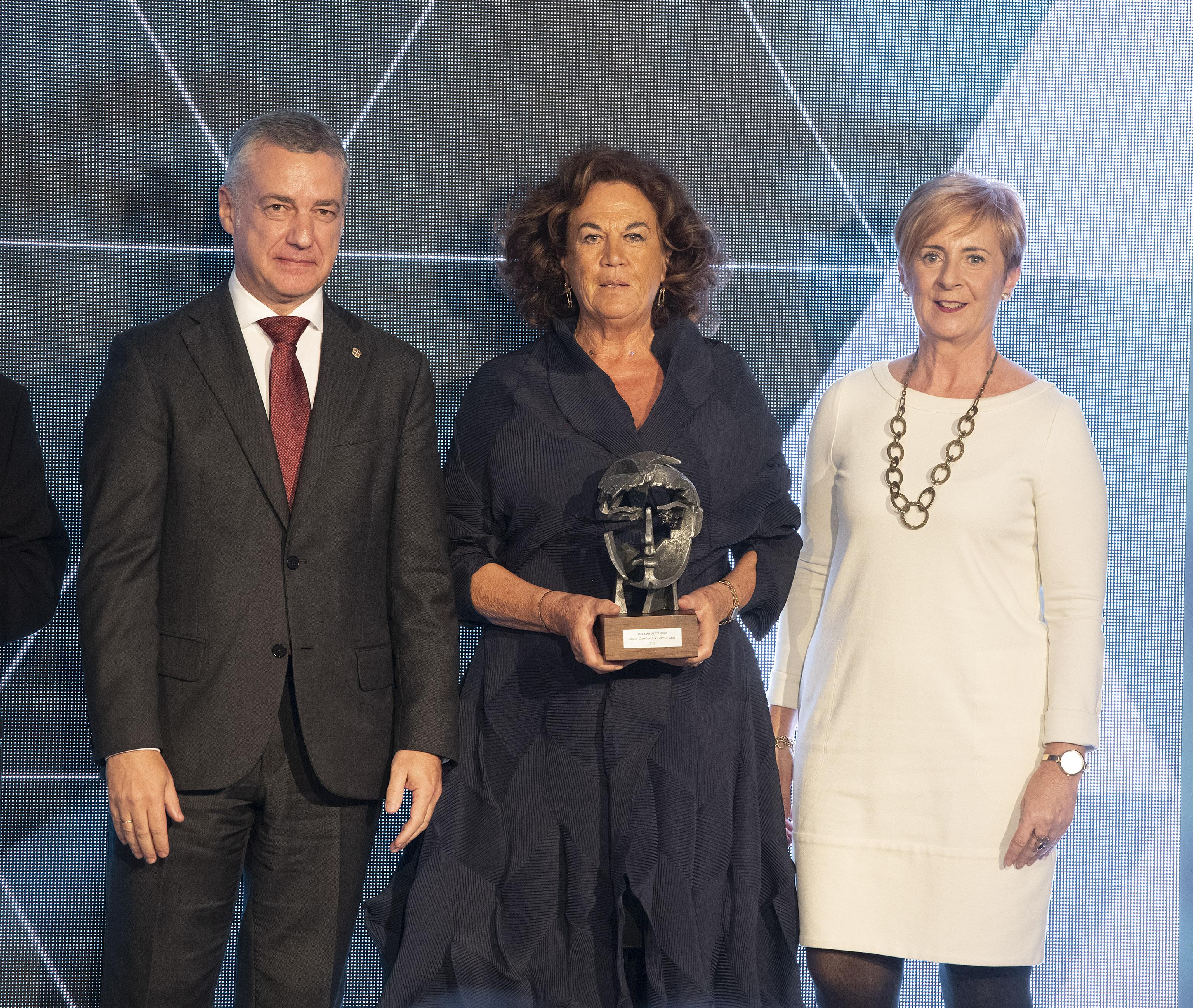 Alicia Garmendia García (Grupo Iruña). Premios Joxe Mari Korta Sariak 2018