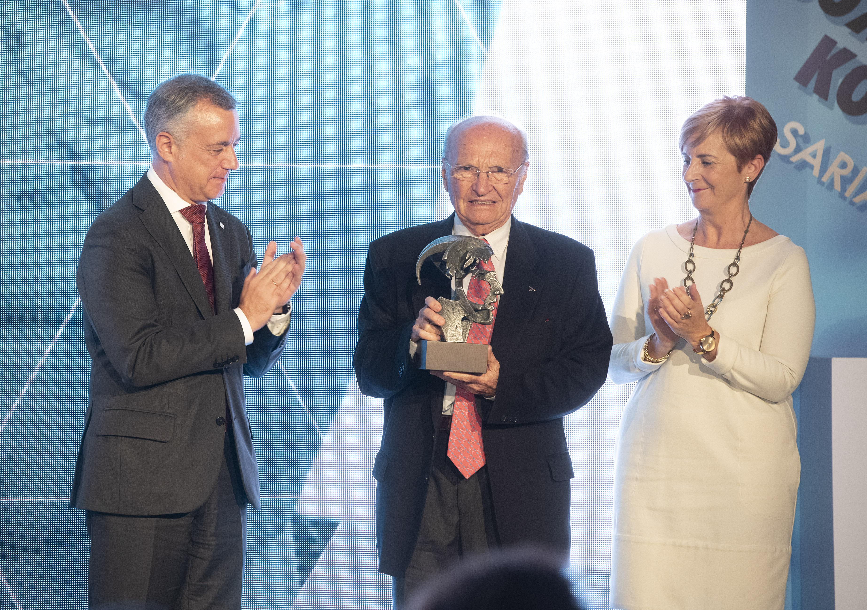 Javier Maria Onaindia Gravé (Onaindia). Premios Joxe Mari Korta Sariak 2018