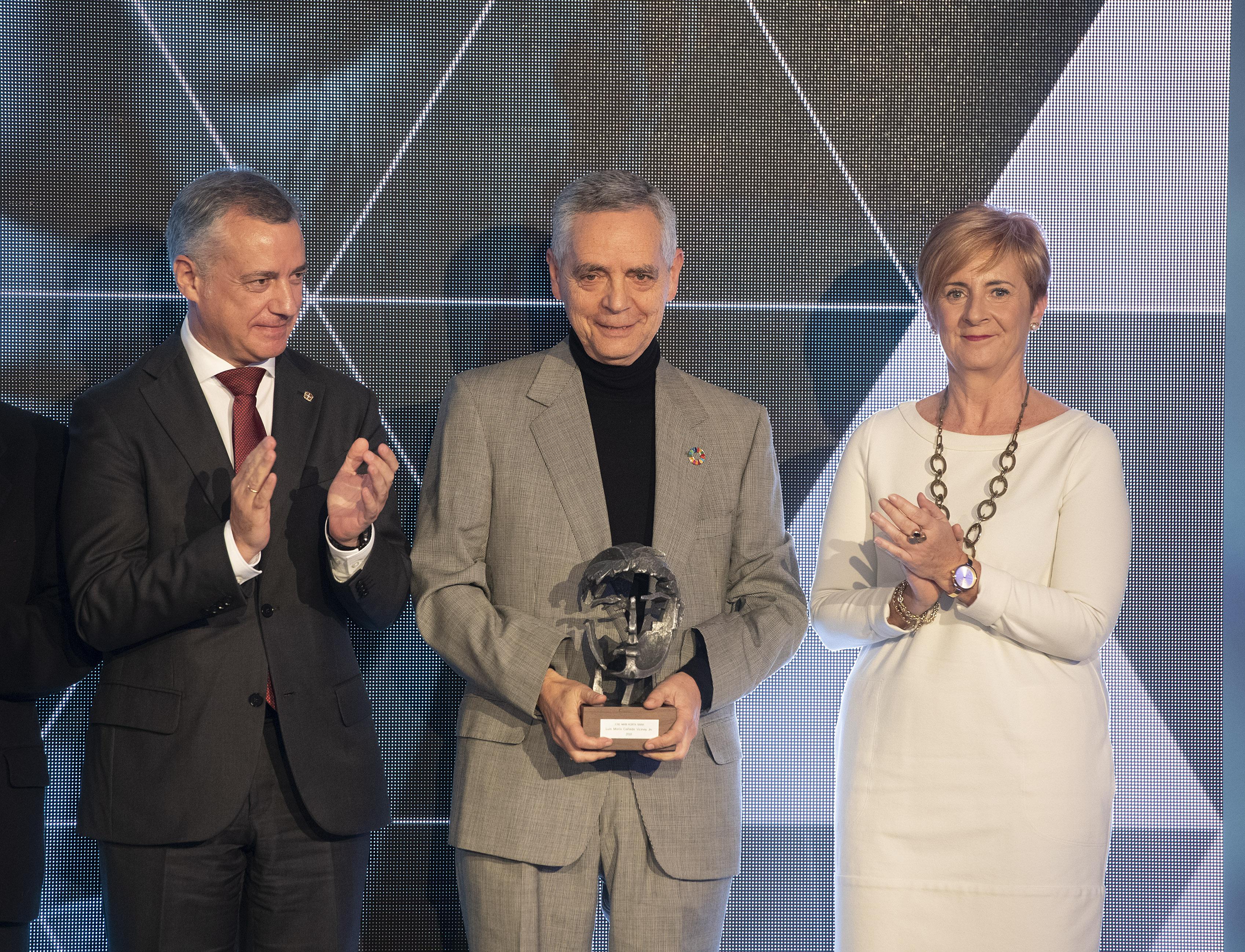 Luis Cañada Vicinay (Vicinay). Premios Joxe Mari Korta Sariak 2018