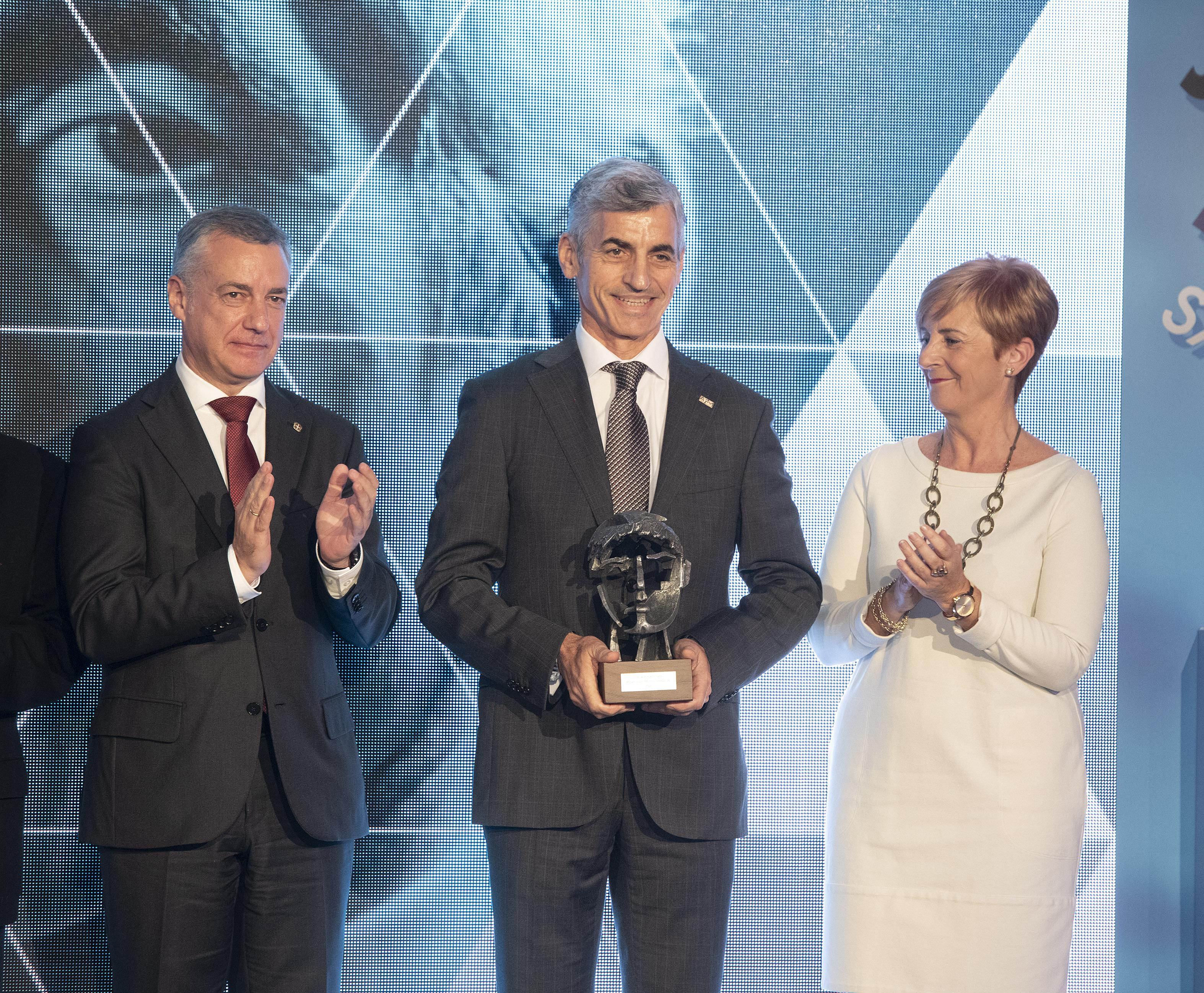 Miguel Ángel Montes Crespo (Cometel). Premios Joxe Mari Korta Sariak 2018