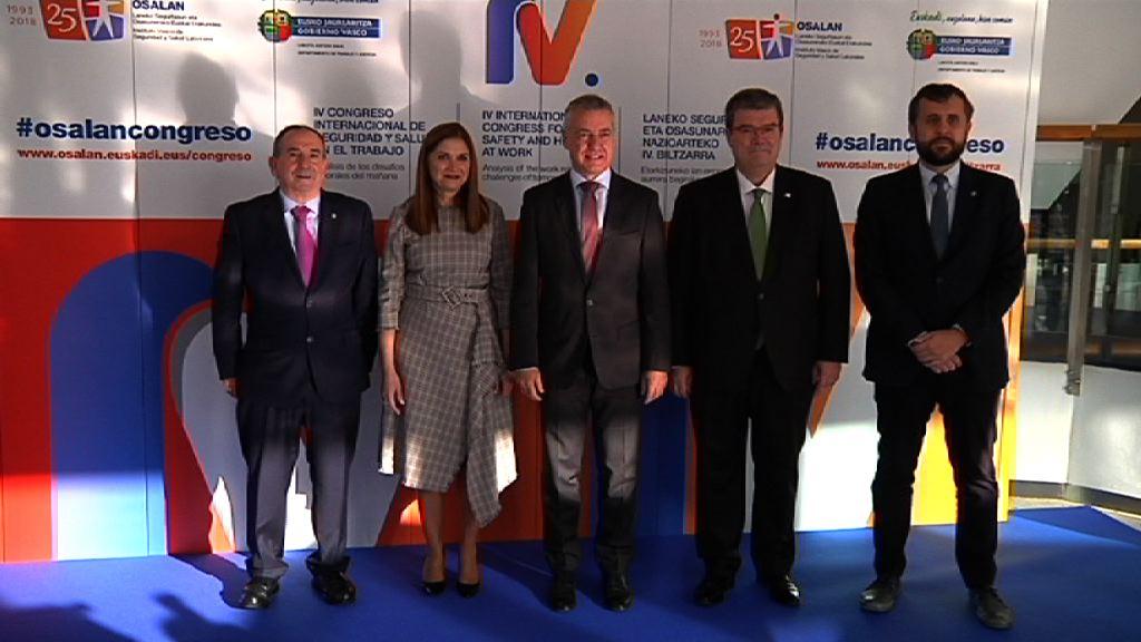 El Lehendakari aboga por la mejora sostenida de las condiciones de trabajo en Euskadi