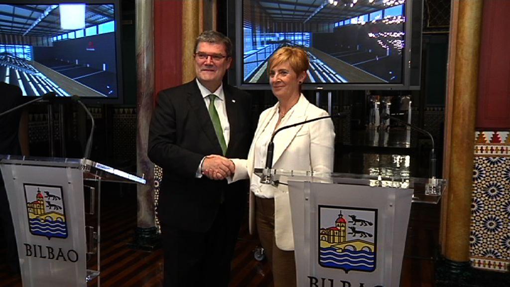 Gobierno Vasco y Ayuntamiento de Bilbao acuerdan la construcción del nuevo frontón de la Esperanza que irá acompañado de un edificio para dependencias municipales