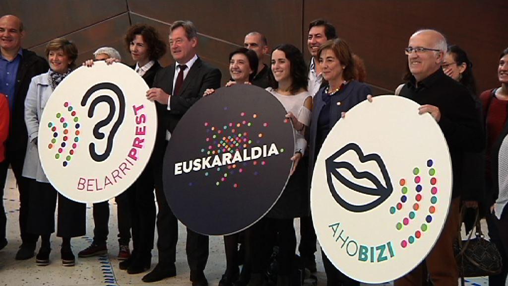 Los agentes educativos se adhieren a Euskaraldia