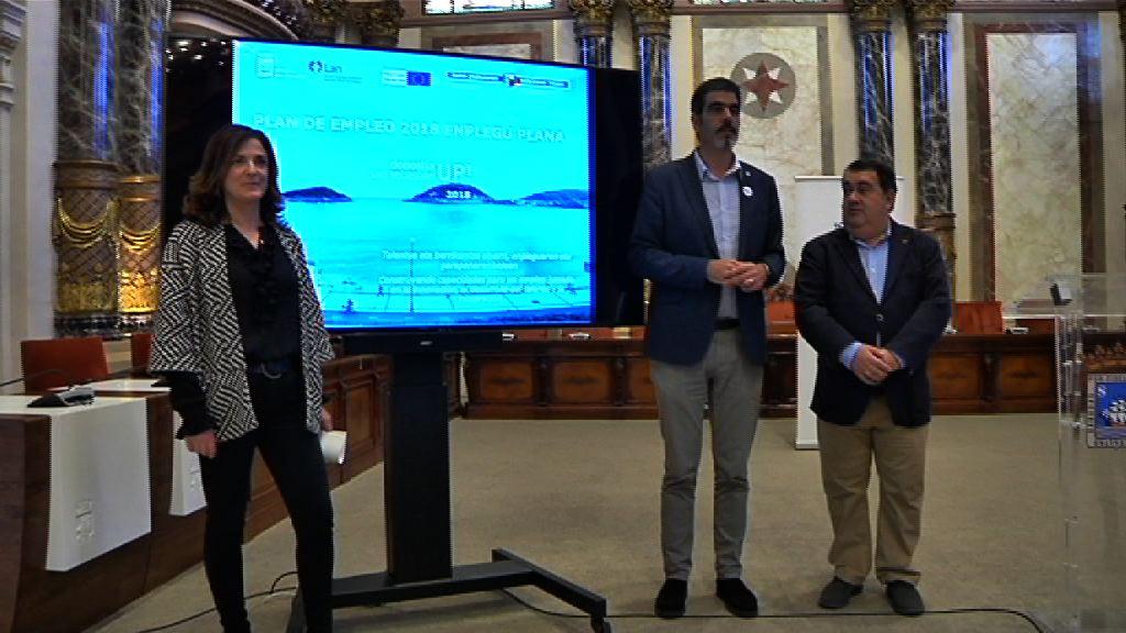 """Artolazabal: """"El Plan de Empleo del Ayuntamiento de Donostia / San Sebastián y Gobierno Vasco impulsa la creación de 209 empleos"""""""