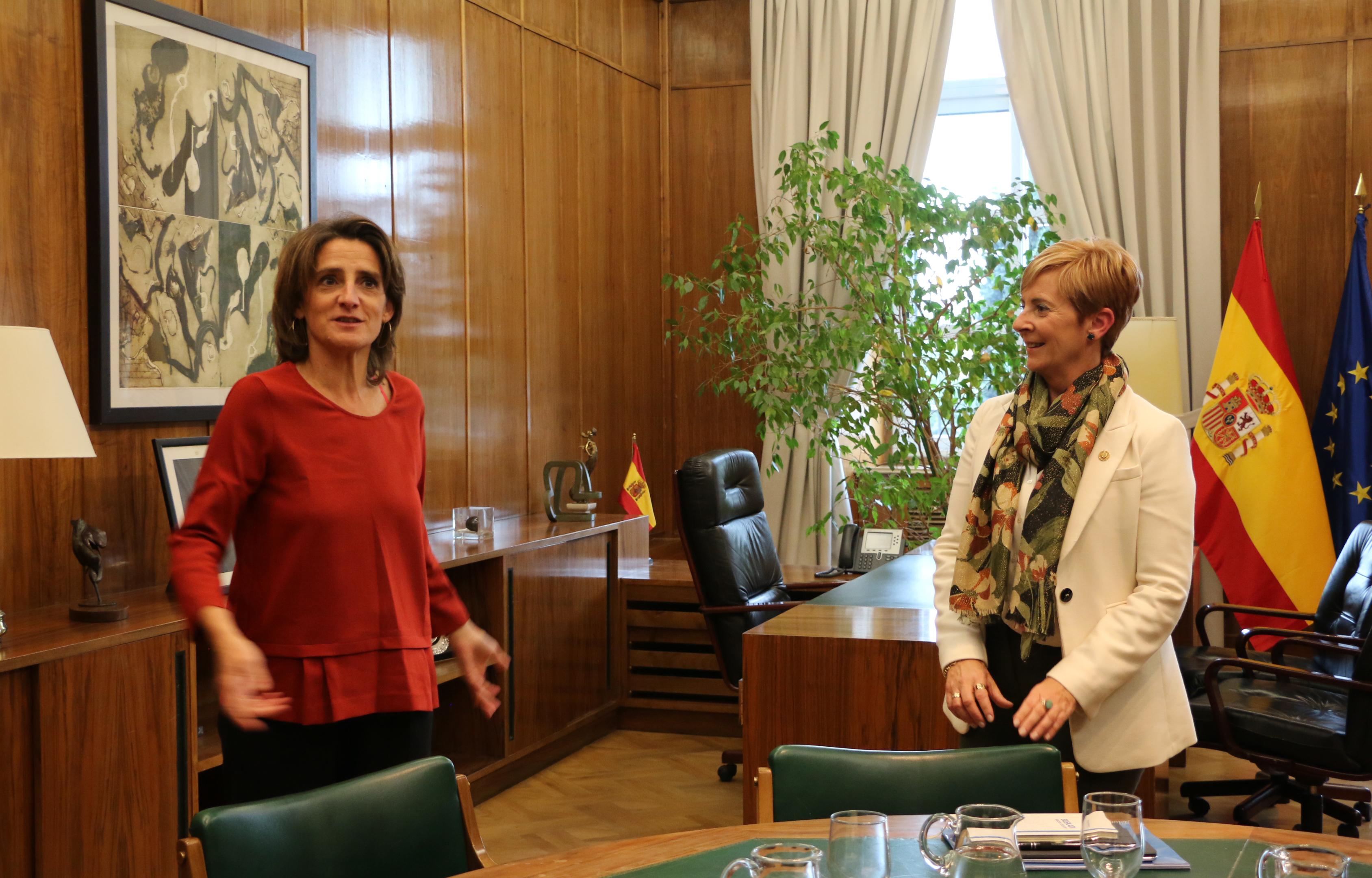 El Ministerio de Transición Ecológica se muestra receptivo a las propuestas del Gobierno Vasco