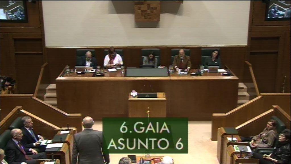 Interpelación formulada por D. Unai Urruzuno Urresti, parlamentario del grupo EH Bildu, al lehendakari, sobre la transferencia de las competencias