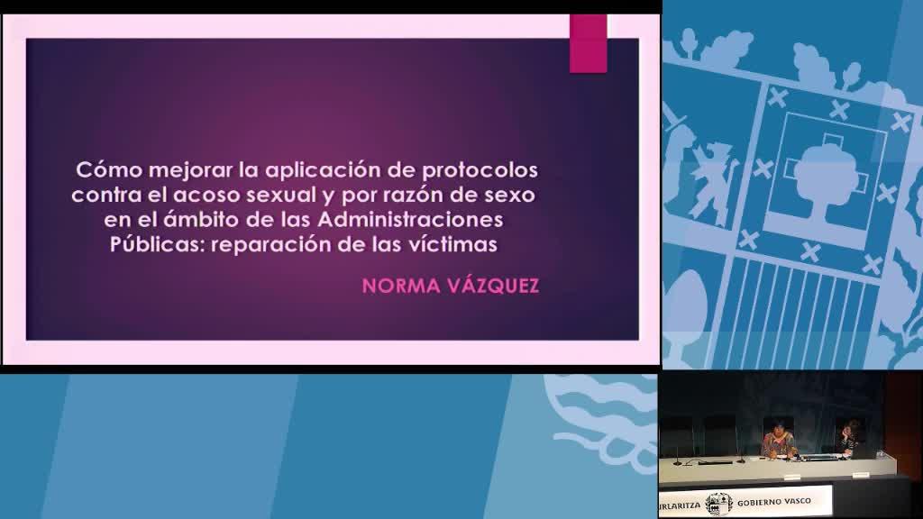 Andrés Zearreta e Izaskun Urien organizan una jornada de sensibilización sobre el acoso sexual y por razón de sexo en las administraciones públicas
