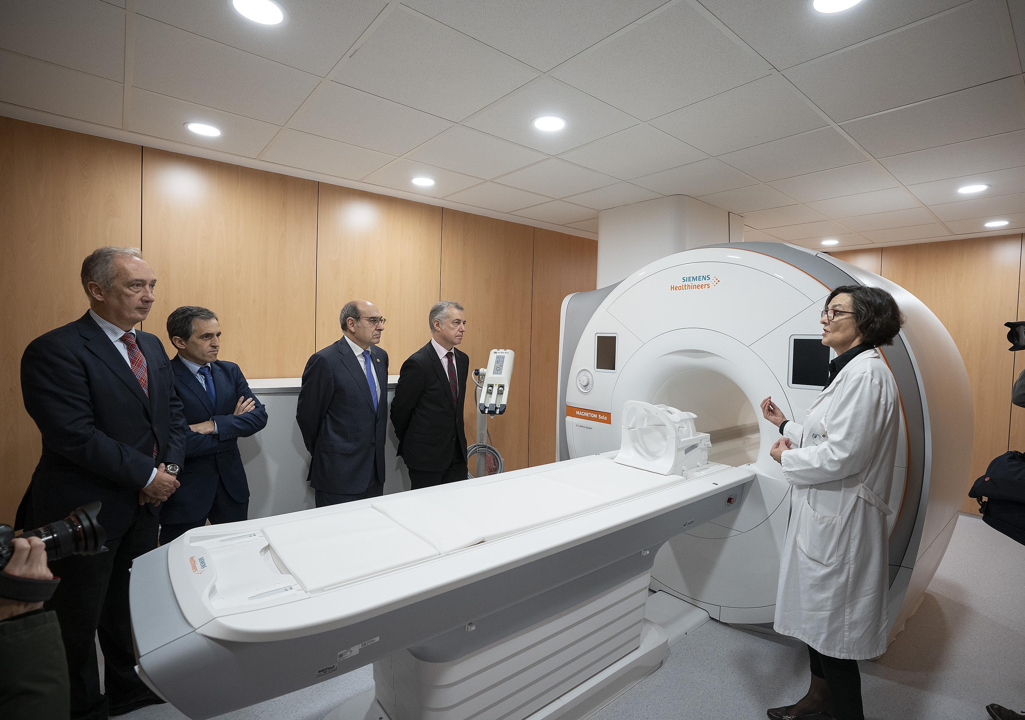 El Hospital Universitario Donostia se dota de un nuevo equipo de resonancia magnética de última generación