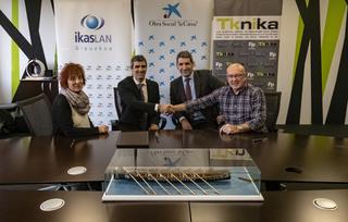 """La Obra Social """"la Caixa"""" y FP-Euskadi renuevan su compromiso con el emprendimiento"""