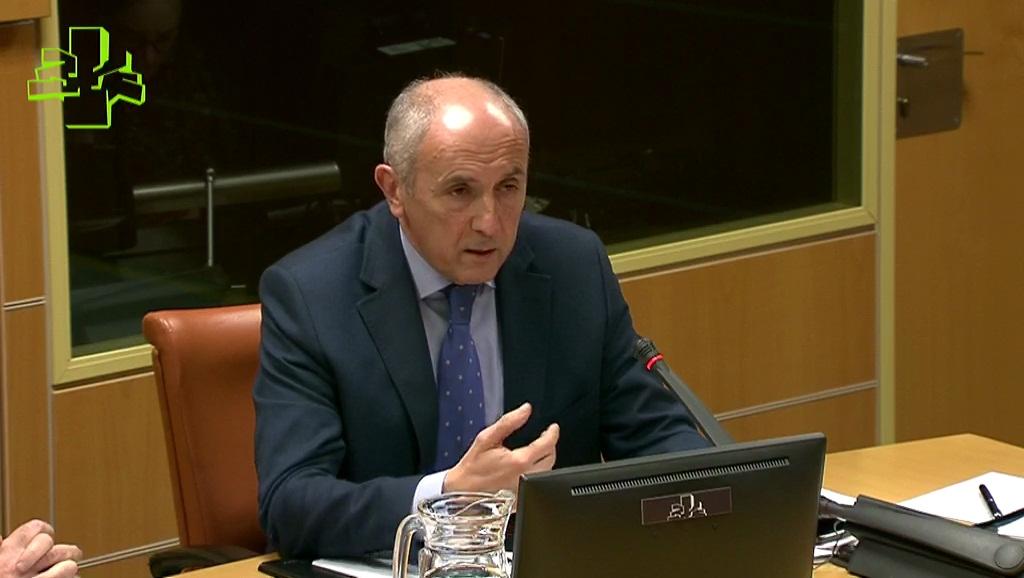 Comparecencia de Josu Erkoreka en la Comisión de Instituciones, Seguridad y Gobernanza Pública del Parlamento Vasco