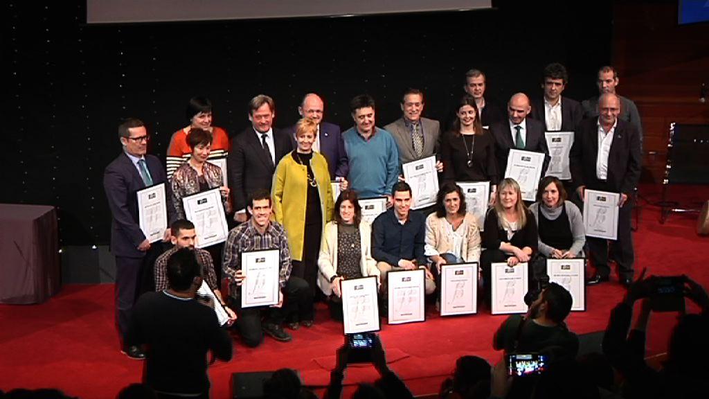 El Gobierno Vasco ha entregado 20 nuevos Certificados BIKAIN en el Palacio Europa de Vitoria-Gasteiz