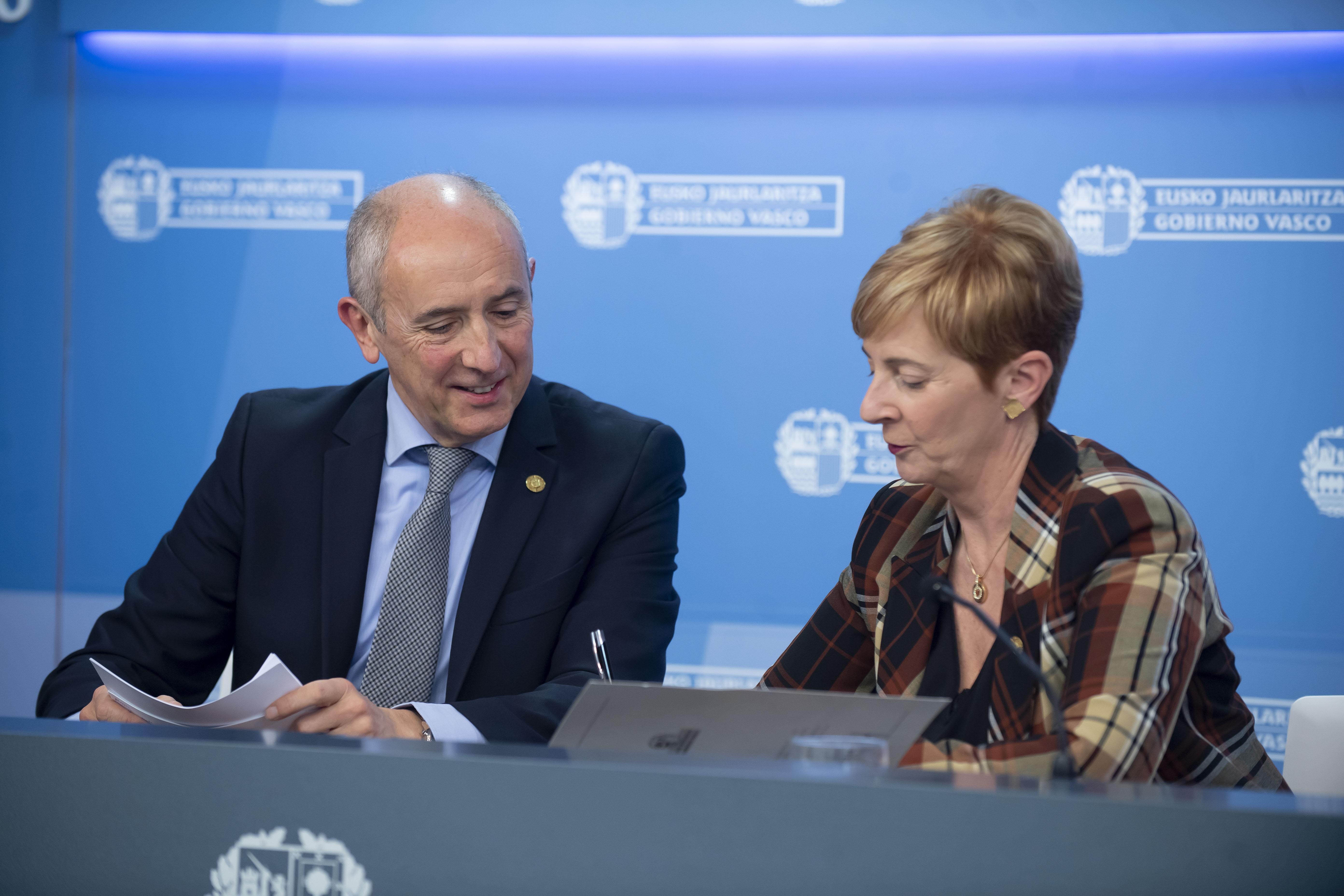 """El Gobierno Vasco cumple dos tercios de los objetivos fijados en el """"Programa marco por el Empleo y la Reactivación Económica 2020"""""""