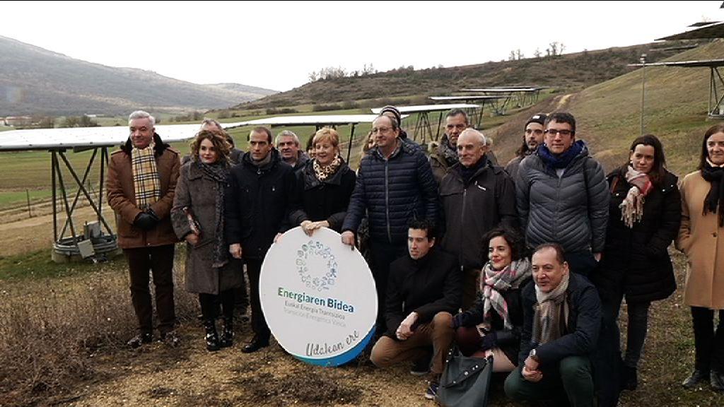 EEE-k Haranan amaitu du udalek energiaren trantsizioaren alde hartutako konpromisoa eskertzeko ibilbidea