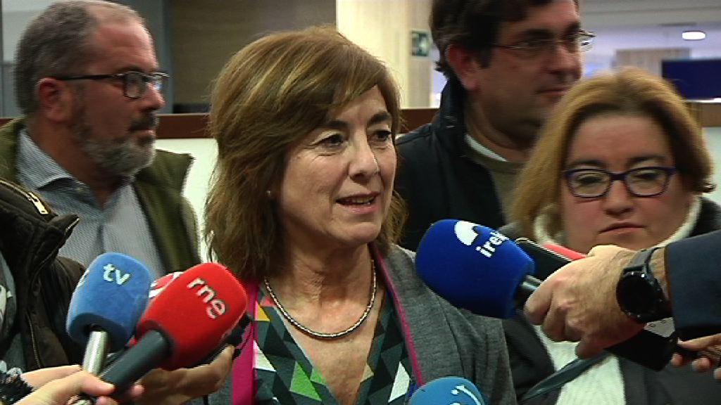 Cristina Uriarte sailburuak guraso elkarteen federazioetako ordezkariekin izandako bileraren balorazioa egin du