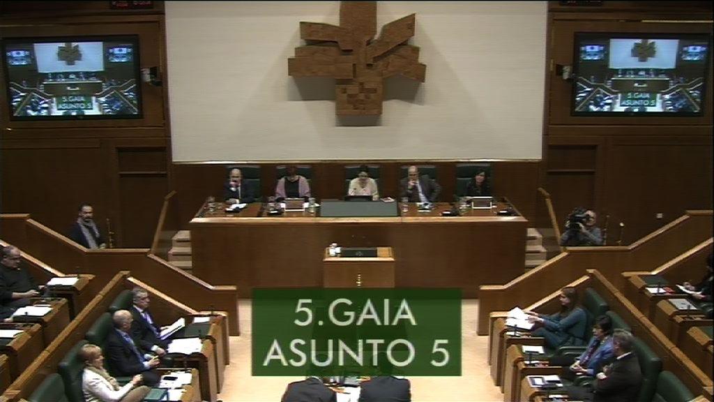 Galdera, Alfonso Alonso Aranegui Euskal Talde Popularreko legebiltzarkideak lehendakariari egina, Euskadiko enpleguari buruz