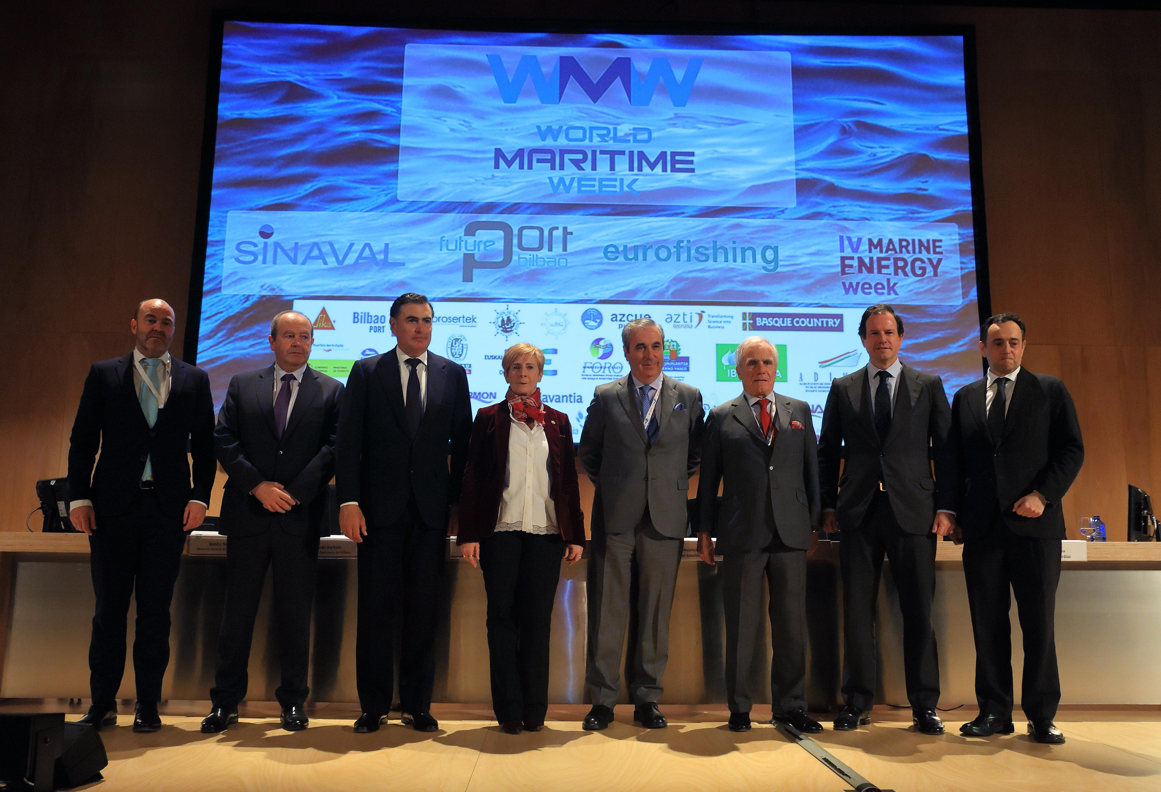 Euskadi expone su fuerza en construcción naval, puertos, pesca y energías renovables en la World Maritime Week