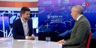 """Josu Erkorekari elkarrizketa ETB1eko """"Egun on Euskadi"""" saioan"""