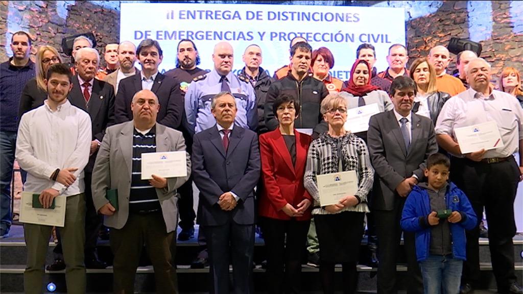 Seguridad otorga a título póstumo la Medalla al Mérito en Emergencias con distintivo rojo a Carmelo Arrizabalaga fallecido en la búsqueda de una persona