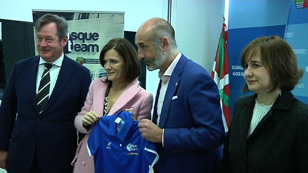 La Fundación Basque Team, el Athletic Club y el Eibar cierran un acuerdo de colaboración para impulsar el deporte vasco de alto nivel