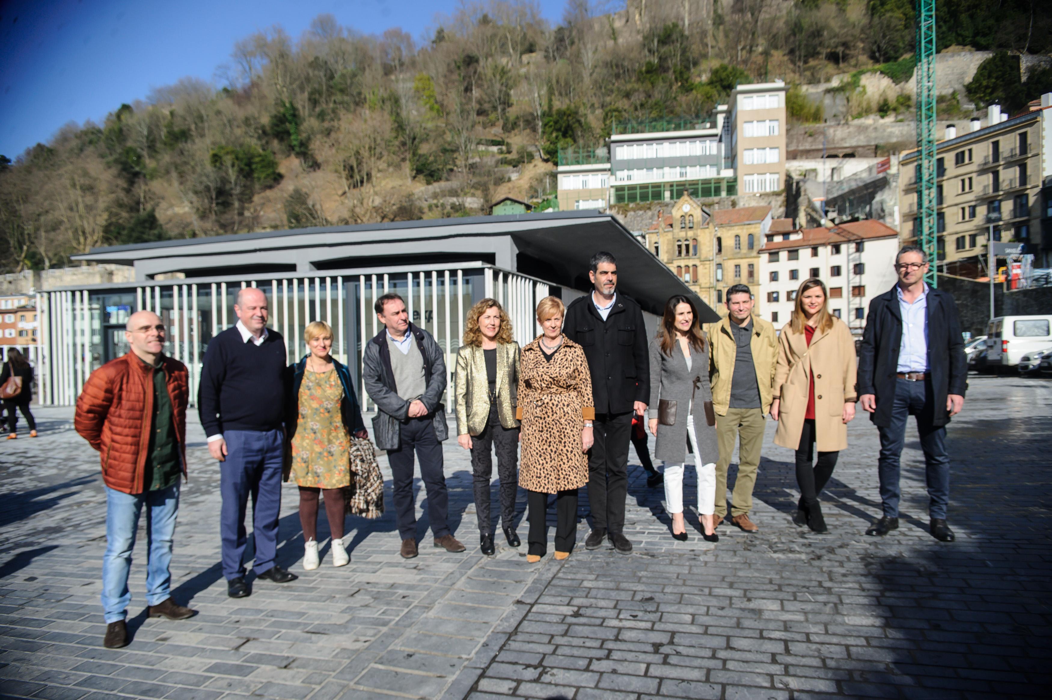 El nuevo Portaaviones ya es una realidad y revitalizará la actividad portuaria de Donostia