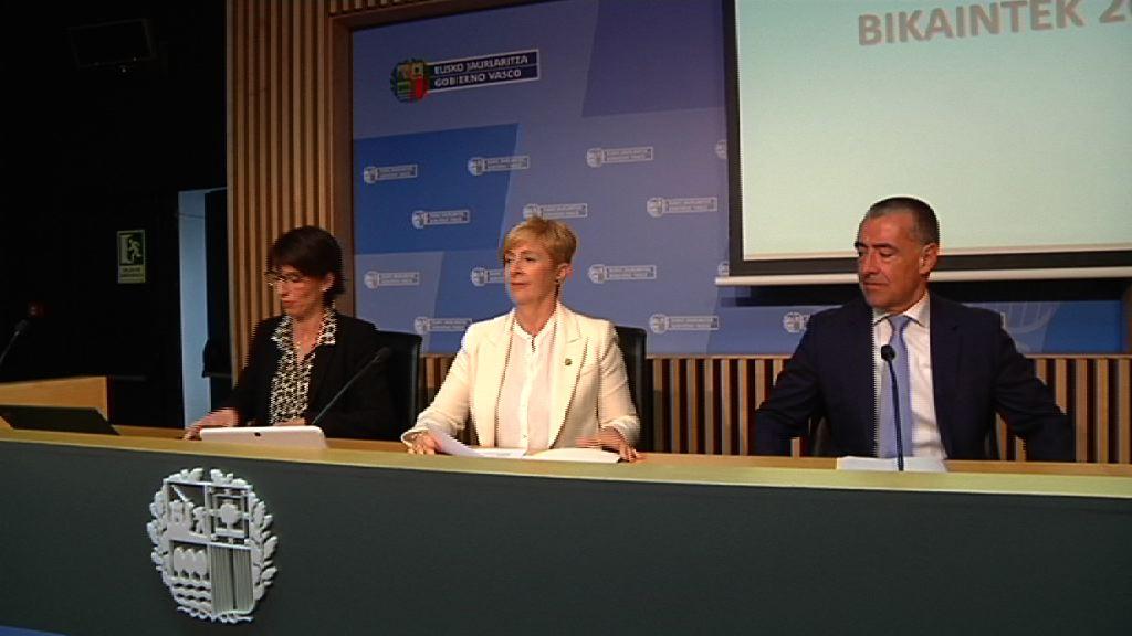 El programa Bikaintek destina 6,6 millones de euros a apoyar la I+D mediante la incorporación de doctores y doctoras a las empresas vascas