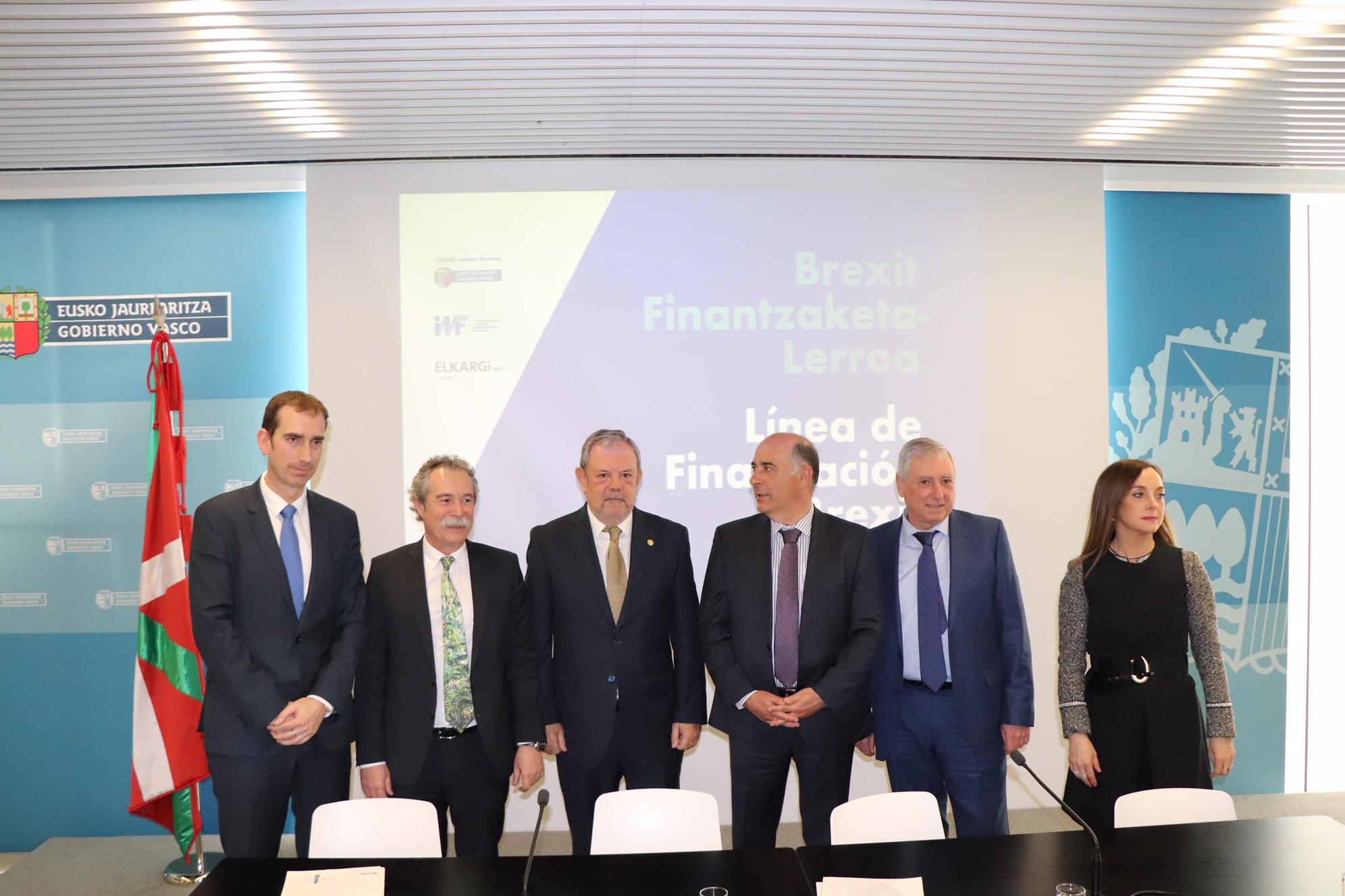Gobierno Vasco y Elkargi ponen en marcha una nueva línea de financiación de 25 millones para empresas afectadas por el Brexit