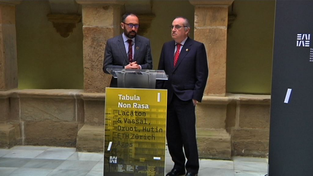 El Instituto de Arquitectura de Euskadi inicia su andadura con una exposición de carácter internacional sobre la importancia de reutilizar el entorno construido