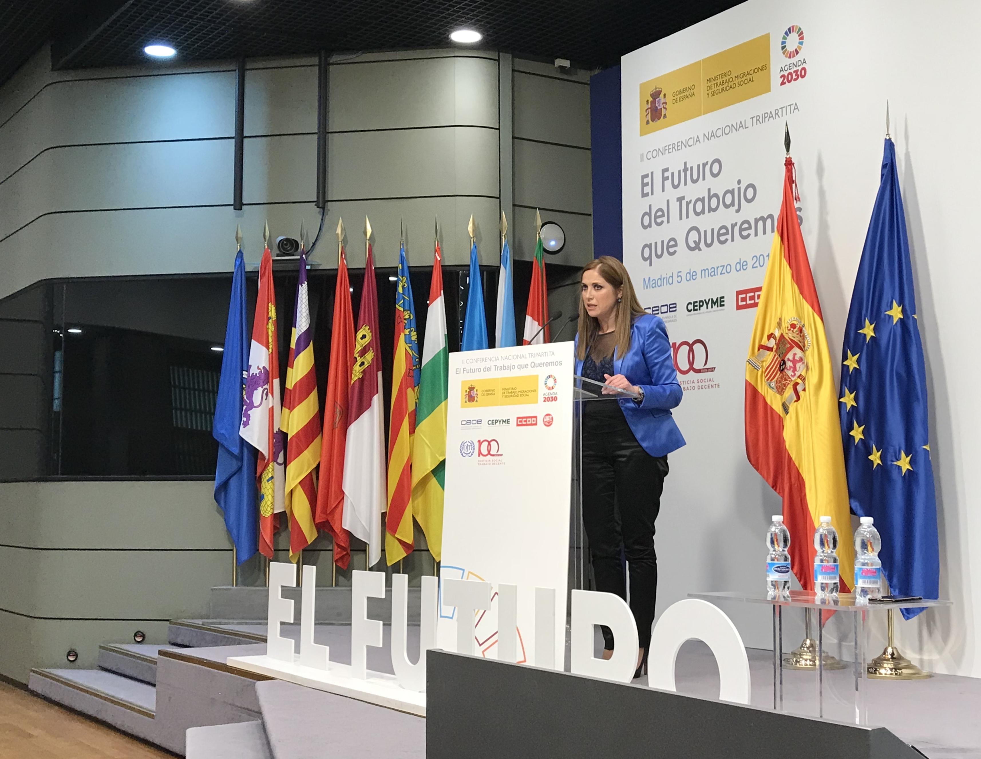 """II Conferencia Nacional Tripartita """"El futuro del trabajo que queremos"""""""