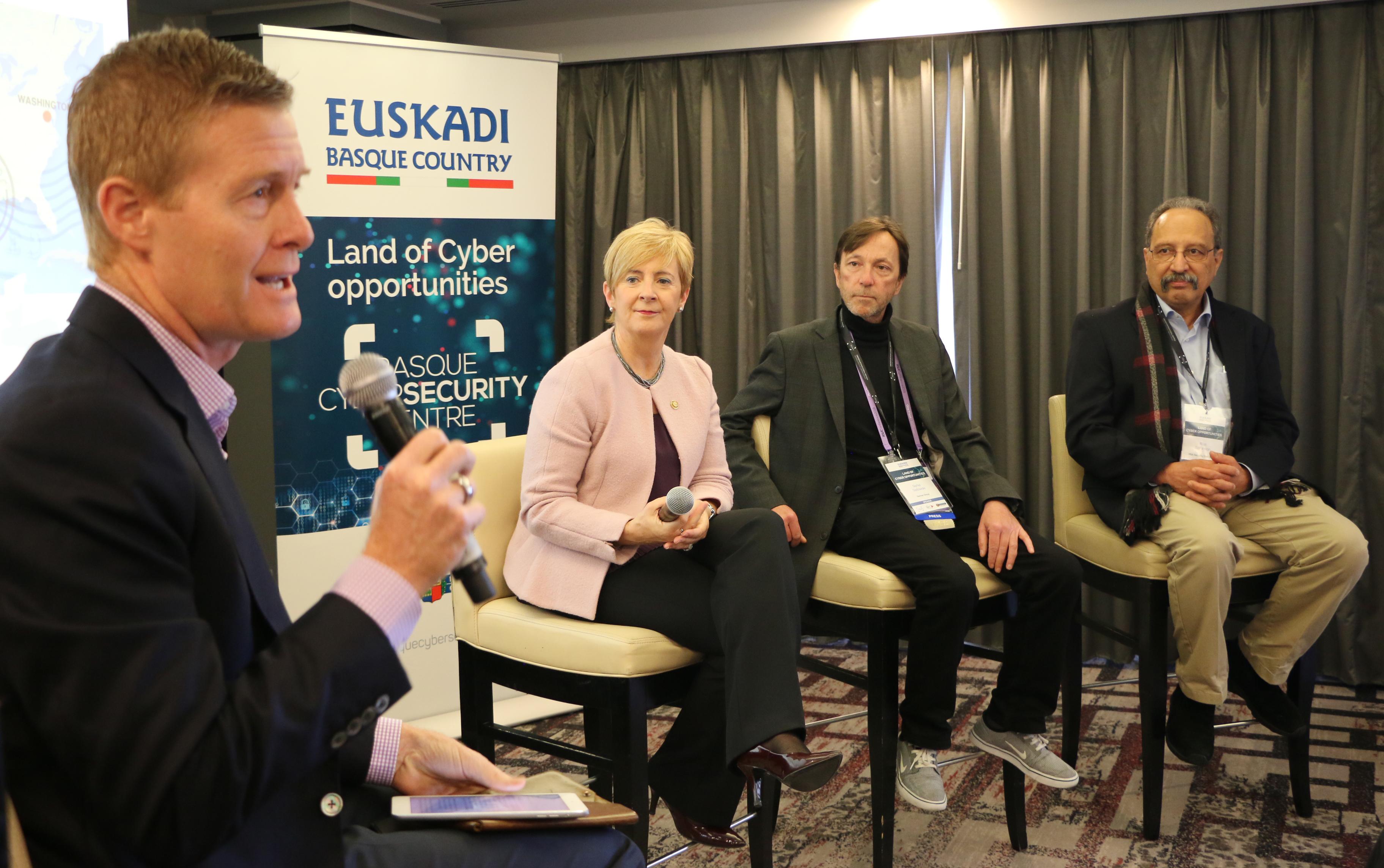Empresas de ciberseguridad de Euskadi muestran su tecnología a entidades inversoras internacionales en una jornada organizada por el BCSC