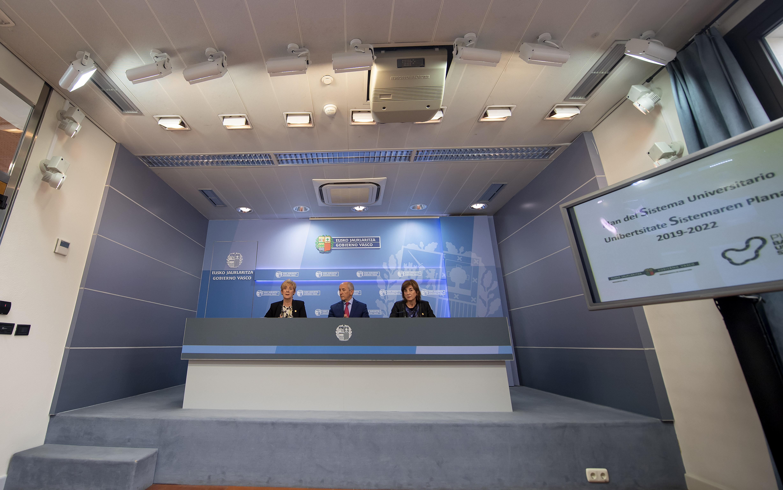 El Gobierno Vasco aprueba un plan normativo y un plan que regirá el sistema universitario vasco