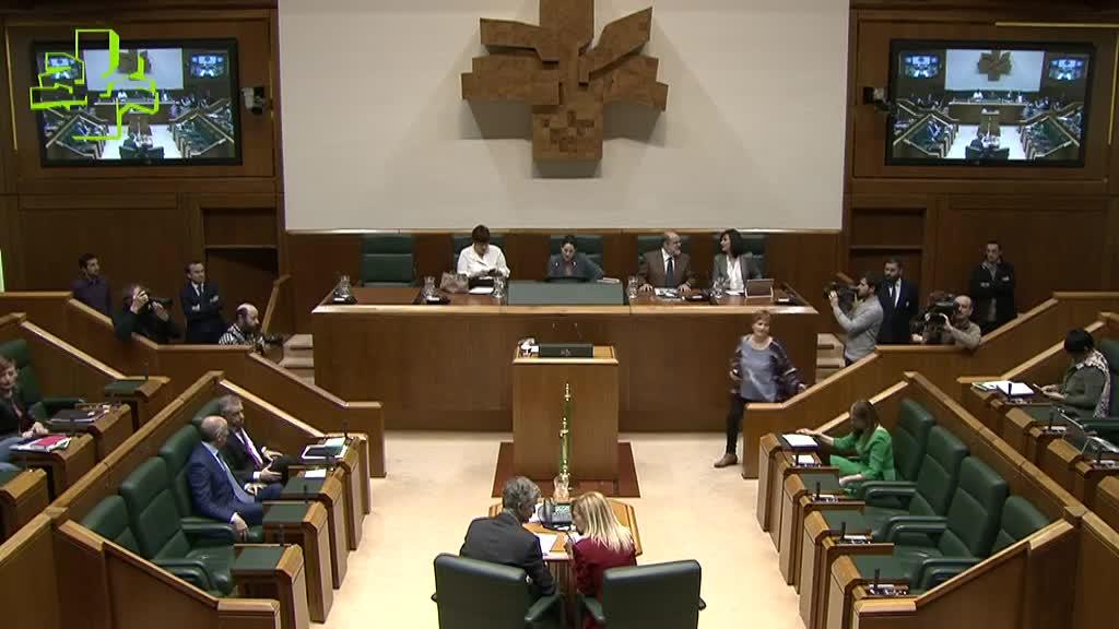 San José presenta en el Parlamento las líneas generales y objetivos estratégicos de la ejecución de la legislación penitenciaria, y pide un amplio consenso que les permitan trascender en el tiempo y a las diferentes condiciones de gobernabilidad que puedan darse.