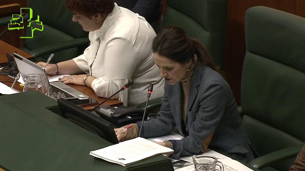 San José presenta en el Parlamento las líneas generales y objetivos estratégicos de la ejecución de la legislación penitenciaria.