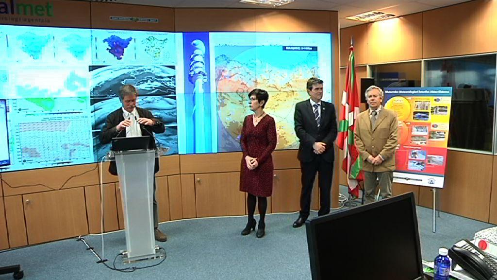 Euskalmet celebra el Día de la Meteorología y da a conocer un servicio de 'Avisos a la Carta' como herramienta de protección civil centrada en meteorología adversa