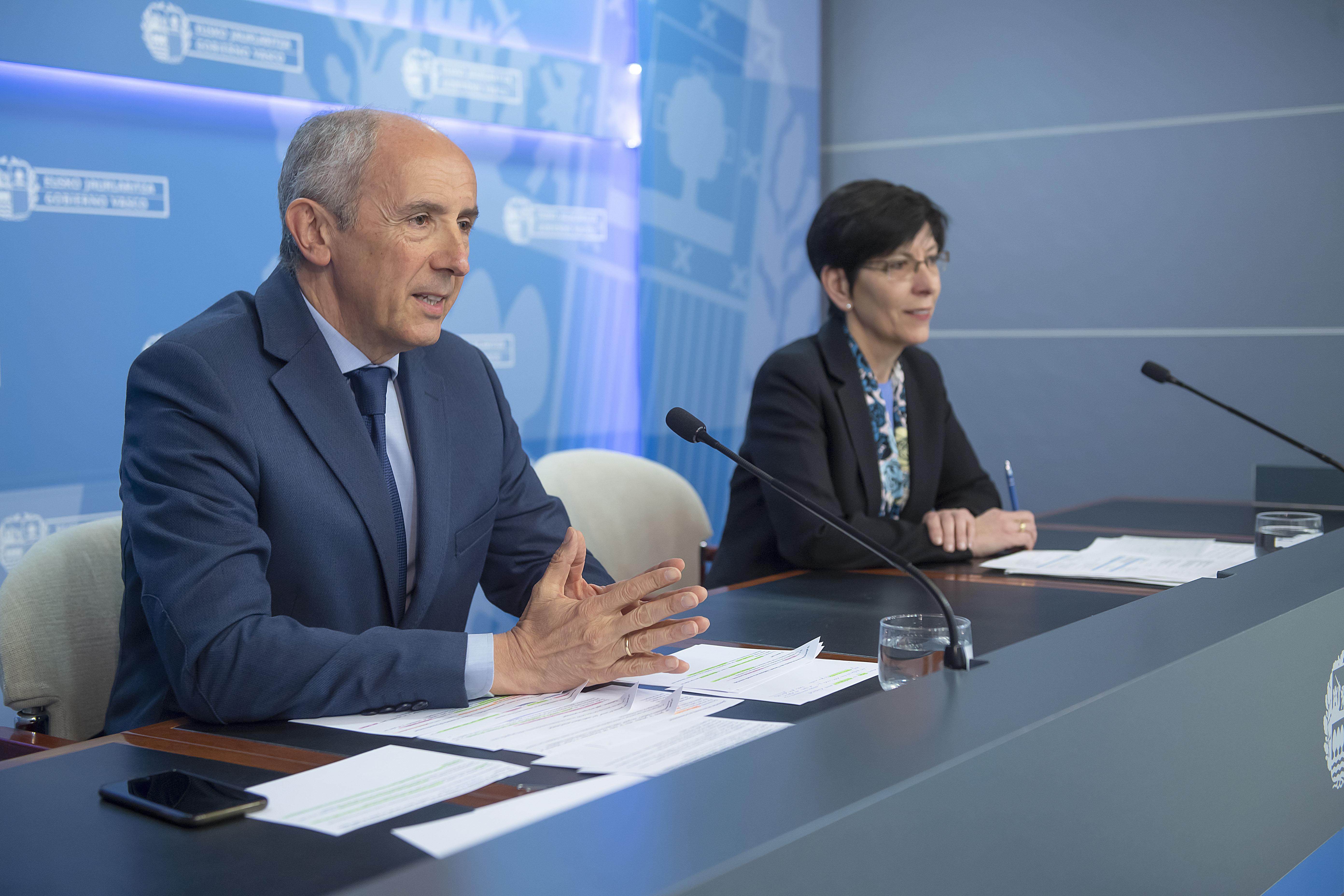 El Gobierno Vasco eleva a 700 el número de plazas de la XVIII Promoción