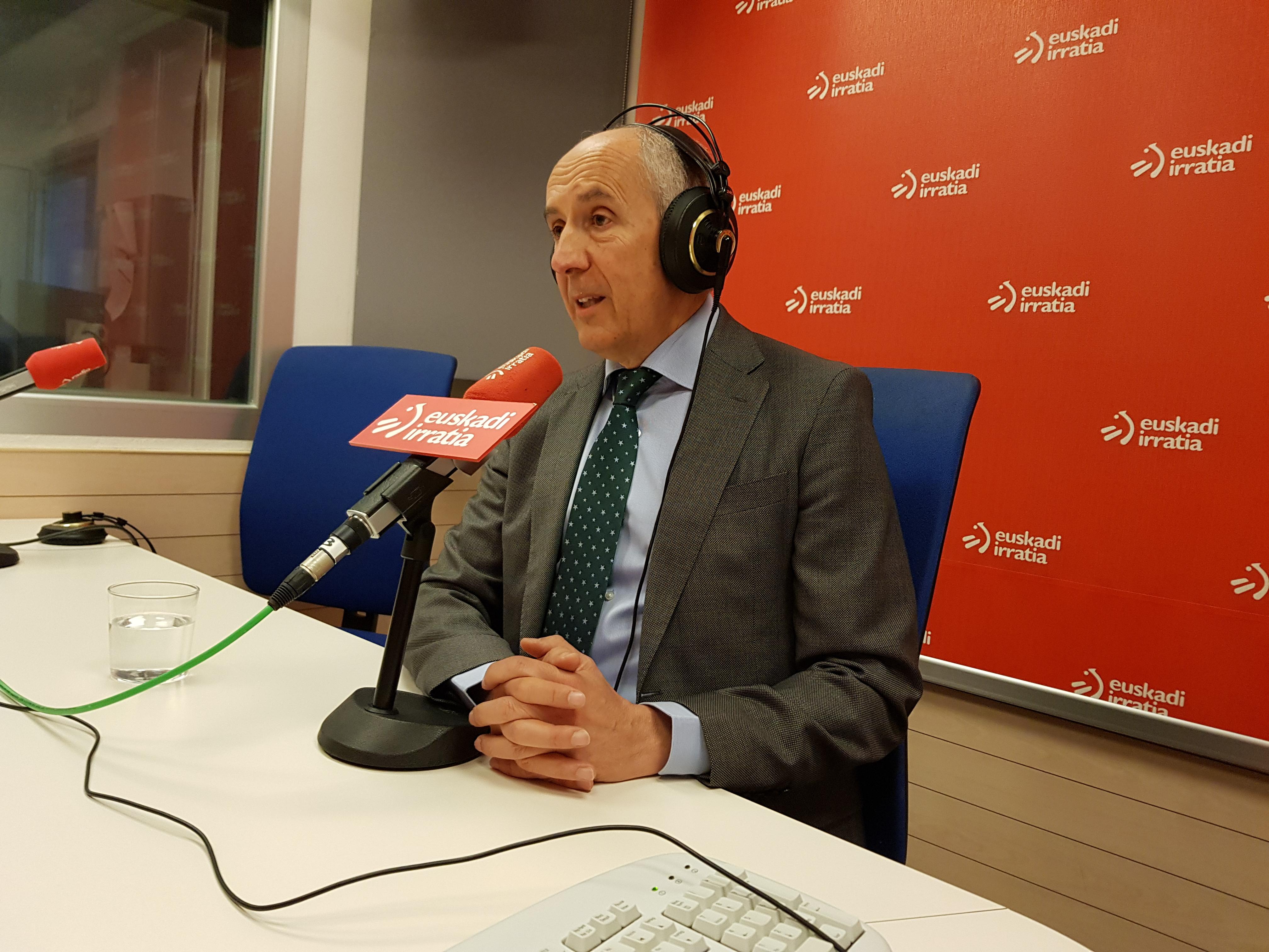 "Josu Erkoreka ha sido entrevistado en el programa ""Faktoria"" de Euskadi Irratia"