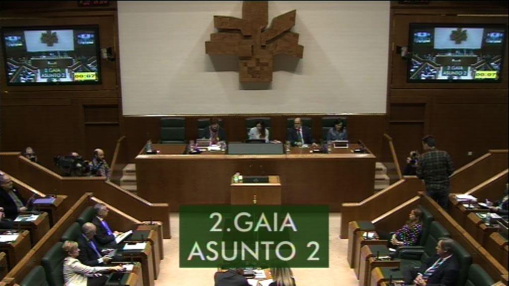 Pregunta formulada por D. Iker Casanova Alonso , parlamentario del grupoEH Bildu, al lehendakari,sobre el proceder del Gobierno Vasco