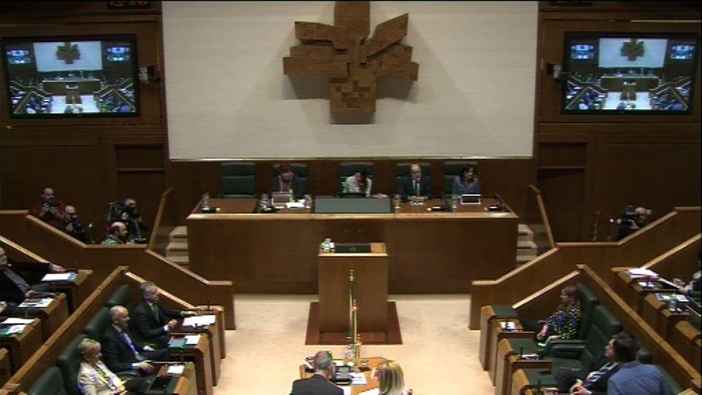 Galdera, Lander Martínez Hierro Elkarrekin Podemos taldeko legebiltzarkideak lehendakariari egina, Euskadiren egoera politiko eta ekonomikoari buruz