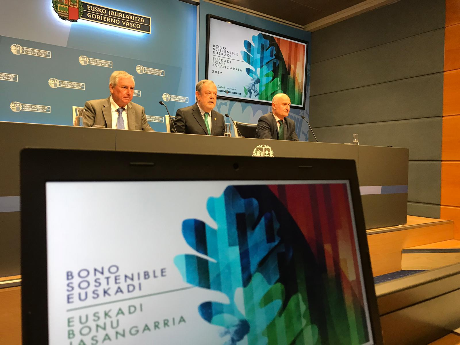 "El Gobierno Vasco lanza por segundo año su ""Bono Sostenible Euskadi"", por valor de 600M / €"