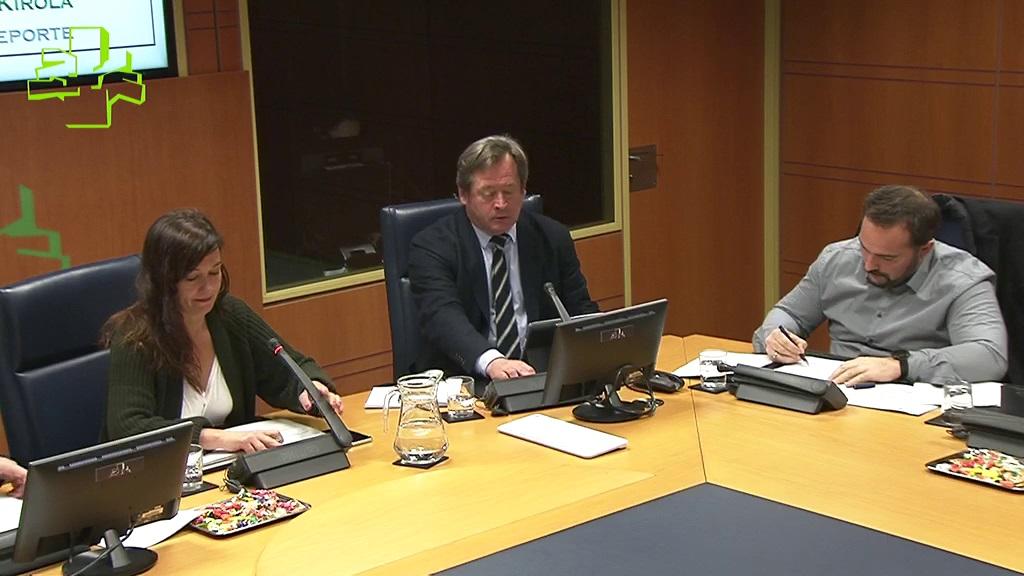 Comisión de Cultura, Euskera y Deporte (09/04/2019)