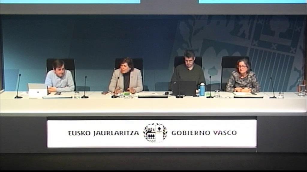 Presentación de 'Ingurunet', nueva plataforma de tramitación electrónica de la Viceconsejería de Medio Ambiente