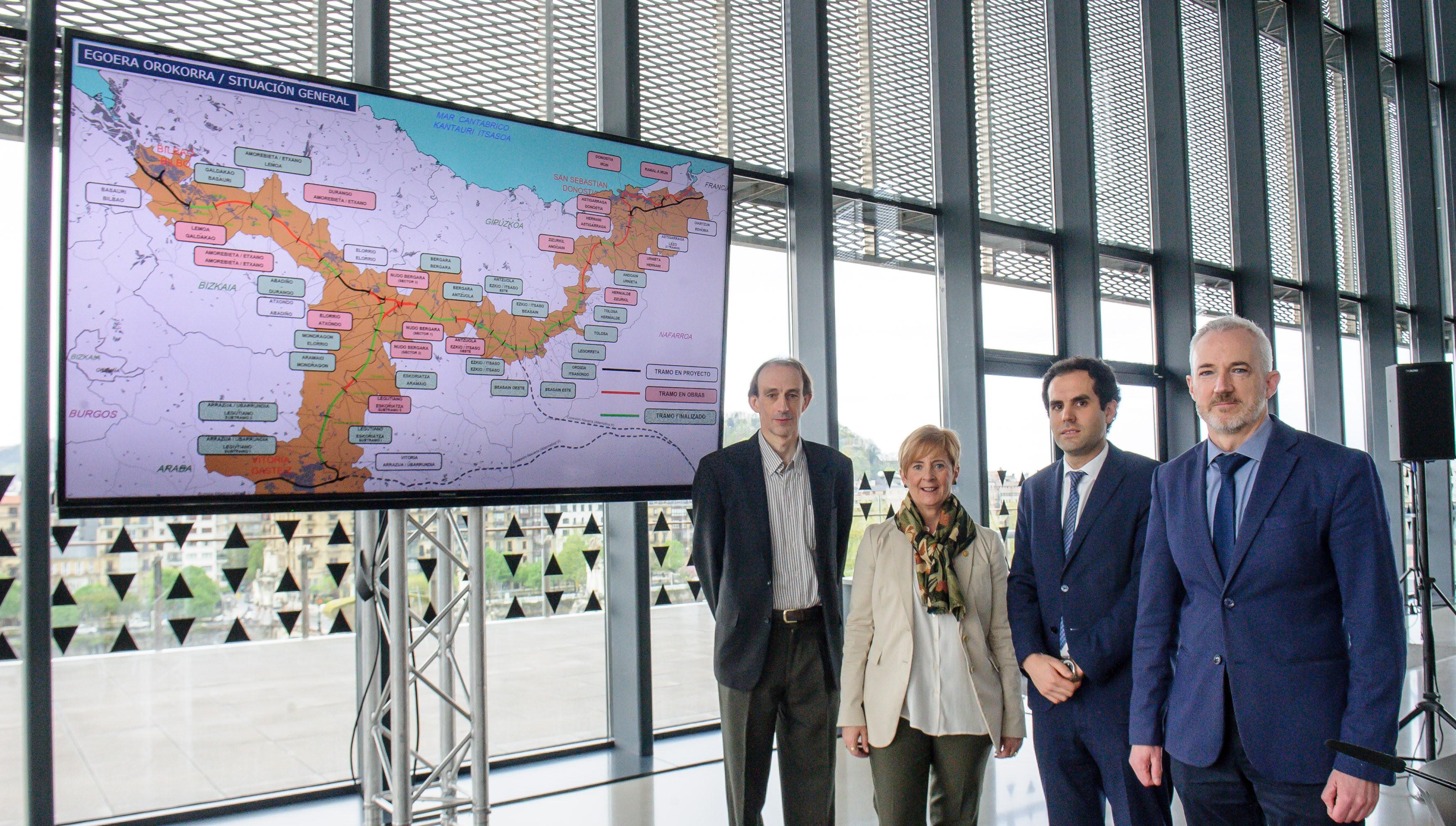Eusko Jaurlaritza lanean ari da Abiadrua Handiko Trena 2024 hasieran zerbitzua emateko