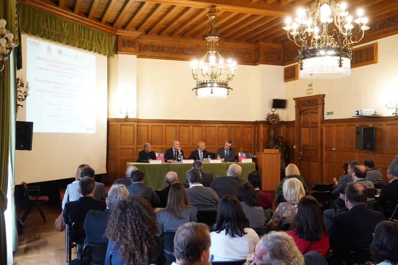 IVAP y CGPJ vuelven a colaborar para formar a profesionales de la judicatura, magistratura y administraciones públicas en Euskadi