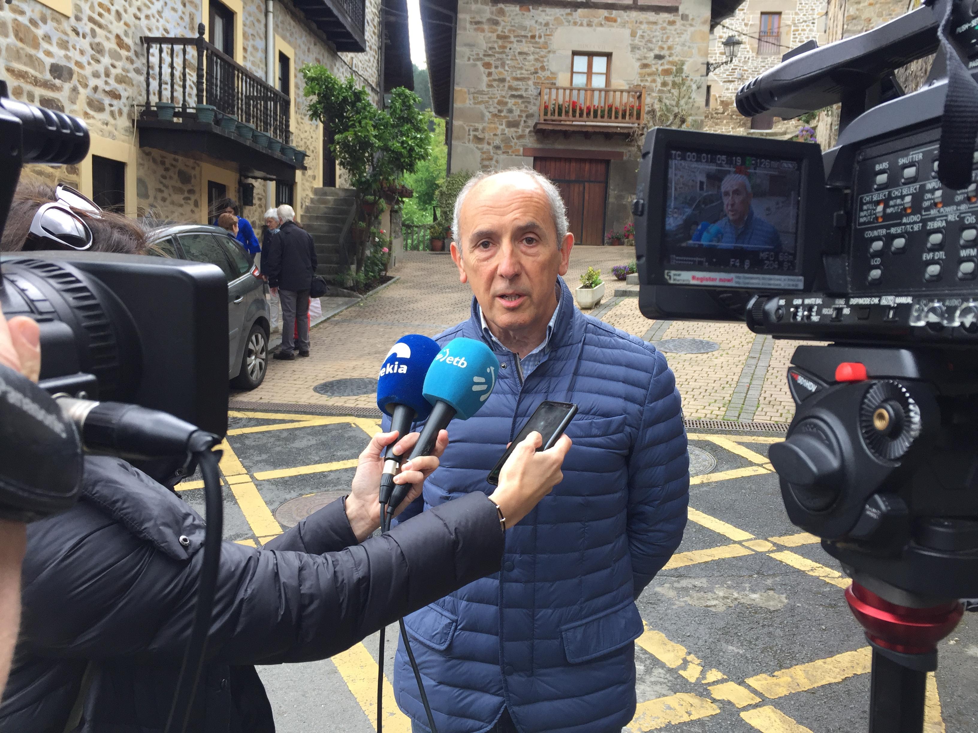 El Gobierno Vasco traslada su pésame a la familia y seres queridos de Pérez Rubalcaba