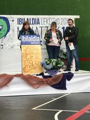 Cristina Uriarte eta Bingen Zupiria sailburuek 2019ko Ibilaldiaren irekiera ekitaldian parte hartu dute