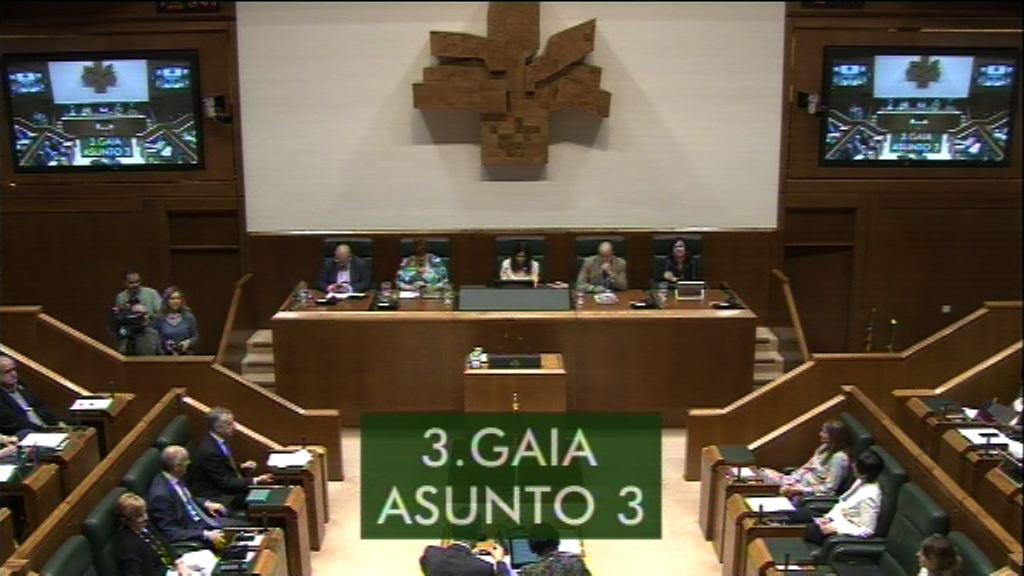 Galdera, Lander Martínez Hierro Elkarrekin Podemos taldeko legebiltzarkideak lehendakariari egina, Eusko Jaurlaritzak konprometituriko legegintza-egutegia betetzeari buruz