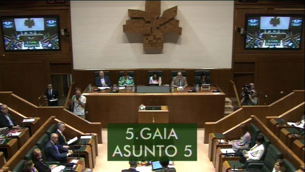 Pregunta formulada por D. Alfonso Alonso Aranegui, parlamentario del grupo Popular Vasco, al lehendakari, sobre el grado de cumplimiento del calendario de reformas del lehendakari