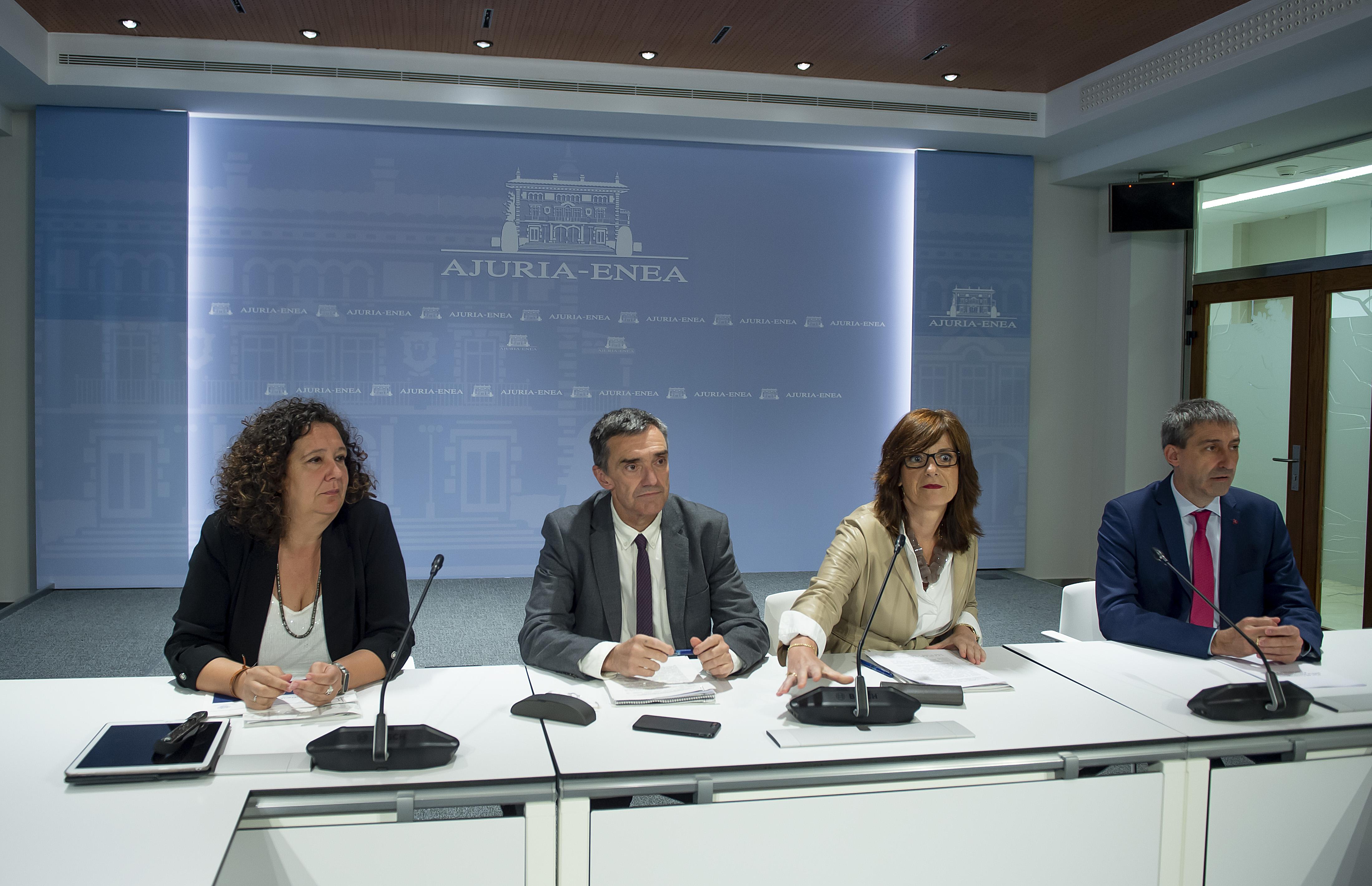 El Gobierno Vasco presenta el Plan de Contingencia 2019 para la atención humanitaria a migrantes que llegan en tránsito a Euskadi